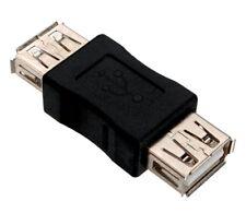 Adaptateur Coupleur USB 2.0 femelle / femelle - USB 2.0 female / female adapter