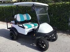 2014 lifted STREET LEGAL Club car Precedent 4 seat Golf Cart 48v radio title