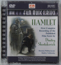 SHOSTAKOVICH - HAMLET - FILM MUSIC CLASSICS - DVD-AUDIO 5.1