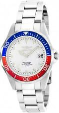 Invicta 17047 Pro Diver Women's Round Silver Tone Analog Stainless Steel Watch