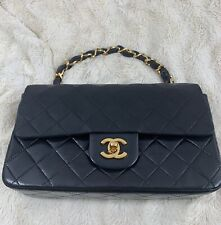 "CHANEL - 9"" SINGLE FLAP - PRELOVED/PREOWNED"