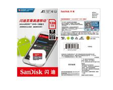 SanDisk 128GB MicroSDXC UHS-I Card  MICROSD Class10 SDSDQUNC-128G +Adapter+Case