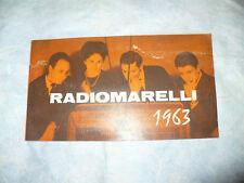 CATALOGO LISTINO PREZZI RADIOMARELLI 1963 TV RADIO ECC.