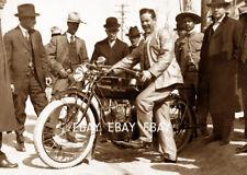 PANCHO VILLA REVOLUCION MEXICANA MOTORCYCLE INDIAN MOTOCICLETA  FOTO PHOTO