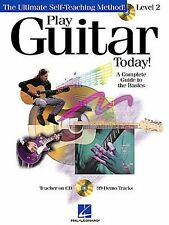 Play Guitar Today Level 2 Learn to Play Teach Lesson Easy Music Book & CD