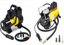 Portable Car Mini Air Compressor Tire Inflator Pump 12V 150PSI Flashlight