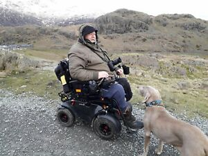 Outdoor offroad powerful powerchair not scooter tracks beach snow mud 4 6 8 mph