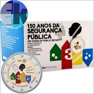 Ek // 2 euro BE Portugal 2017 150 ans de Police de la Sécurité Publique Nouveau