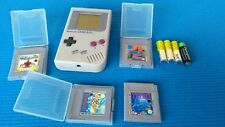 CONSOLE Nintendo Gameboy Classic With 4 Games SUPER MARIO GAME BOY VINTAGE