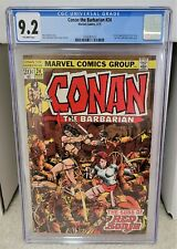 Conan the Barbarian #24 (1973) CGC 9.2 - 1st Full Red Sonja Marvel Comics Key