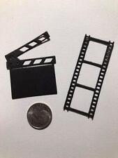 6 Piece Movie Theme Premade PAPER Die Cuts / Scrapbook & Card Making