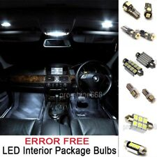 INTERIOR LED SMD Bulbs KIT Package WHITE CAN BUS For Porsche Boxster 986