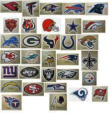 Nfl Football Decal Sticker Team Logo Designs Licensed