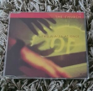 THE CHURCH Two Places at Once CD Single (1998) *Aussie 3-Track
