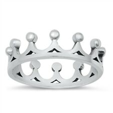 King Crown Eternity Wholesale Prince Royal Ring Sterling Silver Band Sizes 4-10