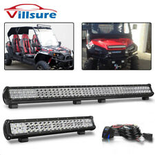 "44inch 288W+20"" 126W LED Light Bar Combo Spot Flood OFFROAD SUV 4WD UTV VS 42/22"
