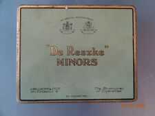 Blechdose DE RESZKE Minors  Tin Cigarettes The Aristocrats of Cigarettes