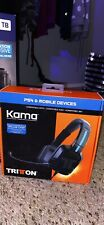 Triton Kama Stereo Headset for Sony PS4 / PS VIta & Mobile Devices SEALED NEW