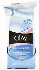 1 Pack 30 Cloth Olay Wet Cleansing & Make up Remover Cloths for Normal Skin New