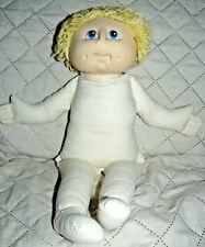 "1984 MN Thomas Yellow Yarn Hair stuffed plush doll 18"""
