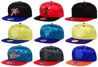 Mitchell & Ness Authentic NBA Upfield Satin Snapback Adjustable Fit Hat Cap