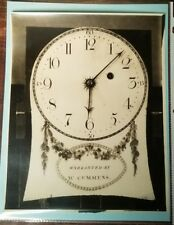 Antique William Cummens Clock Face Photograph