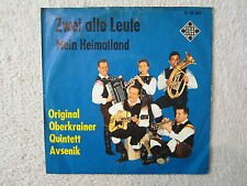 Single / ORIGINAL OBERKRAINER QUINTETT AVSENIK / RARITÄT / U 55249 /