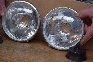 lot 2 optiques phare citroen 2cv  avec veilleuse 1er prix   10530040