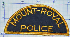 CANADA, MOUNT-ROYAL POLICE DEPT QUEBEC VINTAGE PATCH