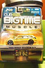 Muscle Machines Dub City 06 2006 Orange & Blk Dodge Magnum R/T 9 Spokes C More!