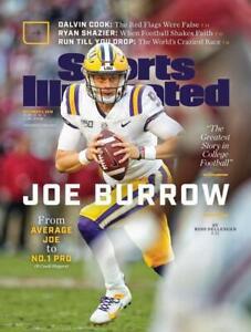 Joe Burrow LSU Tigers Sports Illustrated cover Photo - select size