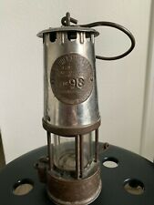 New listing Antique Miners Lantern The Protector Lamp & Lighting Manchester Type 6 No. 96