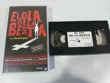 EL DIA DE LA BESTIA ALEX DE LA IGLESIA SANTIAGO SEGURA VHS CASTELLANO SPAIN ED &