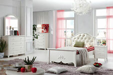 IRIS KINGSINGLE KIDS BED WITH LEATHER BEDHEAD