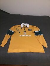 Wallabies Rugby 2003 Canterbury Long Sleeve Jersey XL Authentic & Official ARU