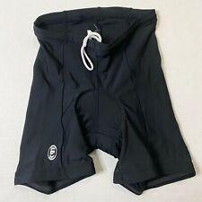 """Louis Garneau Women's Size Medium Shorts Black Nylon 5.5"""" Inseam"""