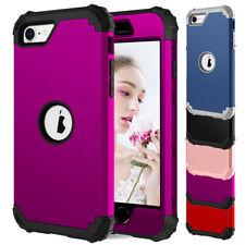 For Apple iPhone SE 2 2020 Hybrid Shockproof Hard Bumper Rubber Phone Cover Case