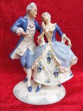 Schöne, alte  Porzellanfigur__barockes Paar__Royal Dux___!