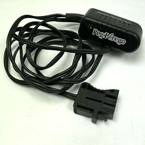Peg Perego Charger Cord 12 Volt 12V Original Replacement OEM Class 2 Ride on Toy