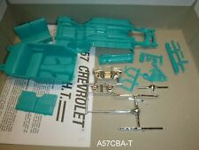 A57CBA-T 1957 CHEVY CHASSIS & INTERIOR PARTS Model Car Mountain 1/25
