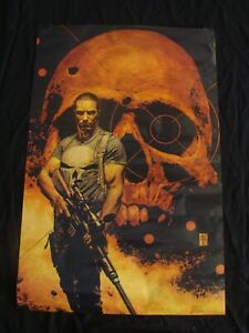 THE PUNISHER Comic book poster TIM BRADSTREET 2001