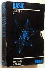 VINTAGE RETRO GAME CARTRIDGE  SC-3000 SEGA BASIC LEVEL III PAL