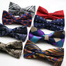 Hot Men's Bowties Polka Dot Floral Polyester Silk Bow Tie For Men Suit Butterfly