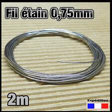 075/2# 2m fil Ø 0,75mm de soudure pour électronique  60% étain 40% plomb