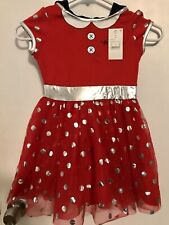 Disney Minnie Mouse Costume/dress Toddler Girl Size 4/5