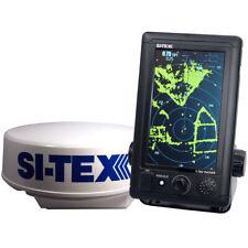 "Si-Tex T-760 Compact Color Radar 4Kw 18"" Dome 7"" Touchscreen"