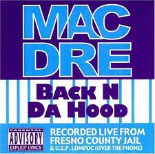 Mac Dre - Back N Da Hood EP [PA]  CD SEALED NEW / 7 TRACKS jail recordings