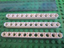 LEGO Technic 4 x épais lift arm Brique faisceau avec trous 1 X 9 Blanc