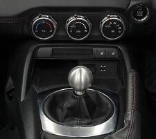 FIAT 124 Voodoo GEAR KNOB finiture in alluminio spazzolato 902-259