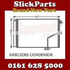 MERCEDES SLK AIR CON CONDENSOR SLK200 SLK250 SLK350 2011 > NEW